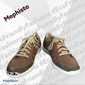 Mephisto Men's Brown 'frank Gowing' Sneaker
